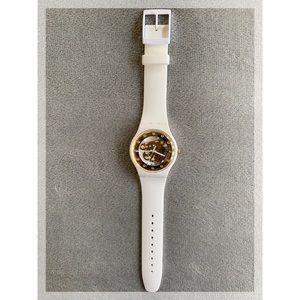 Swatch Originals Sunray Glam skeleton Dial Watch